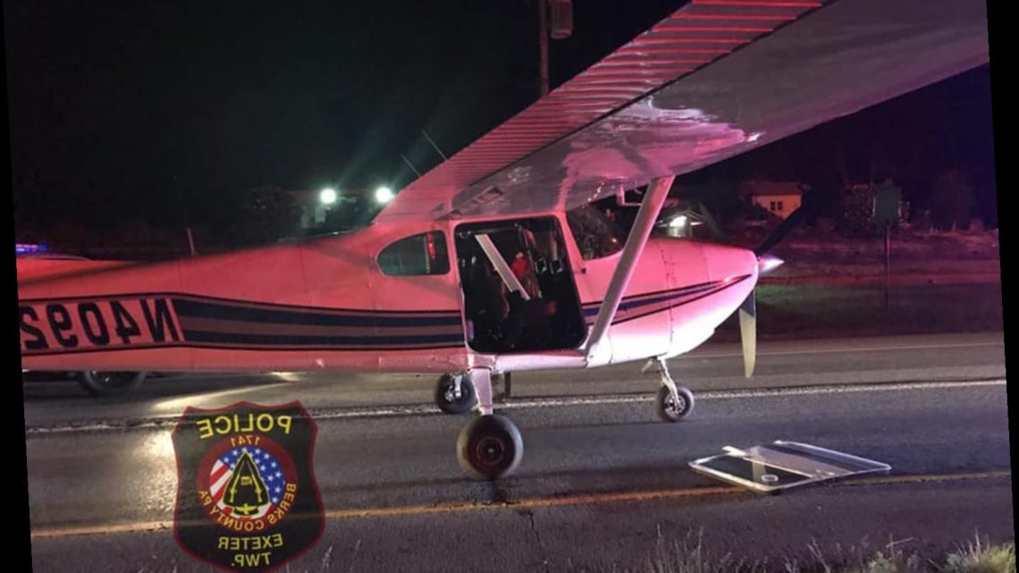 'Hero Pilot' Saves Passengers' Lives After Landing Plane on Pennsylvania Highway