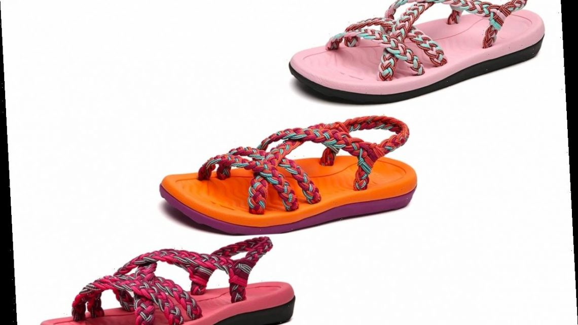 These Cushioned Walking Sandals Are Packed with 'Unbelievably Comfortable' Features