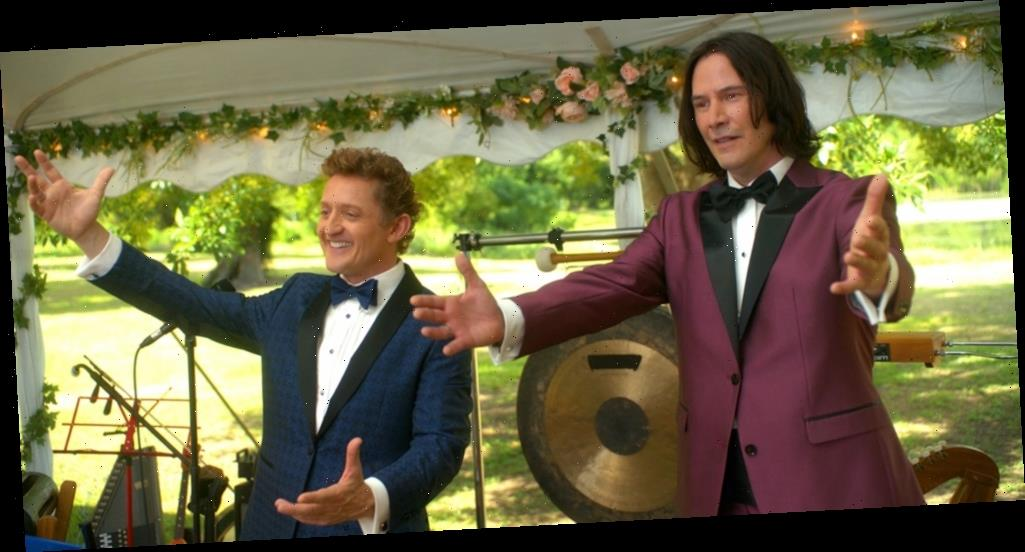 Keanu Reeves & Alex Winter Are Talking About 'Bill & Ted Face The Music' & Say The Charm is Still There