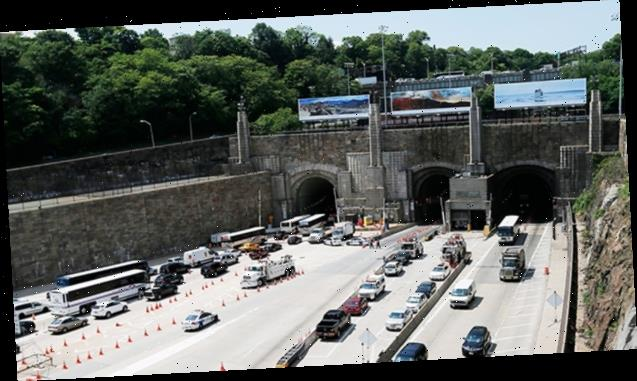 Lincoln Tunnel: Water Leaks Inside NYC Tunnel In Unnerving Videos Taken From Cars Inside — Watch