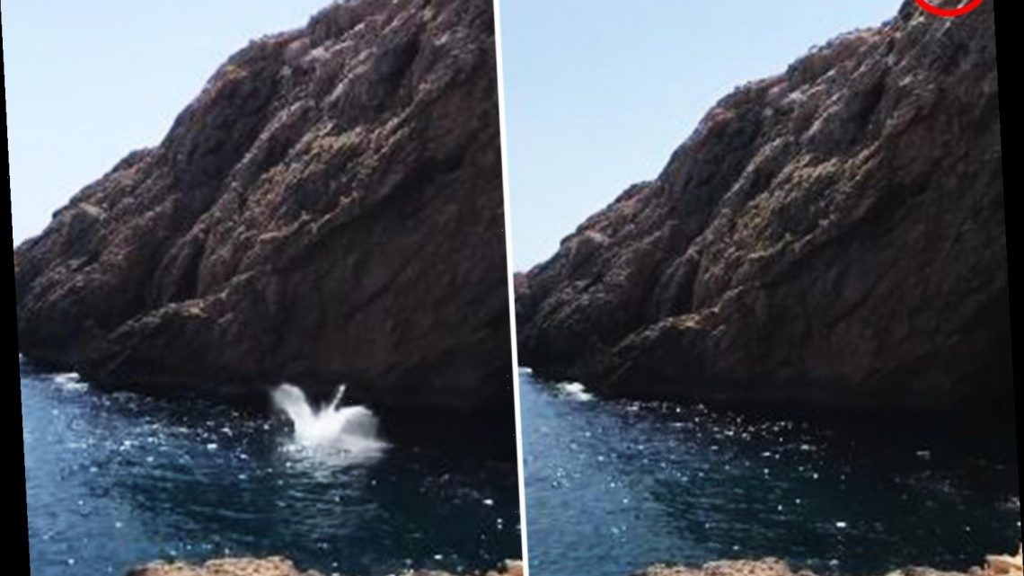 Horror moment Brit suffers 'multiple injuries' leaping from cliff into sea off Ibiza putting him in intensive care