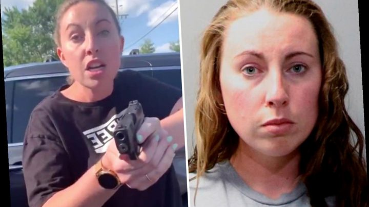 'Karen' who pulled a gun on Black mom & daughter outside Chipotle is arrested for assault along with husband – The Sun
