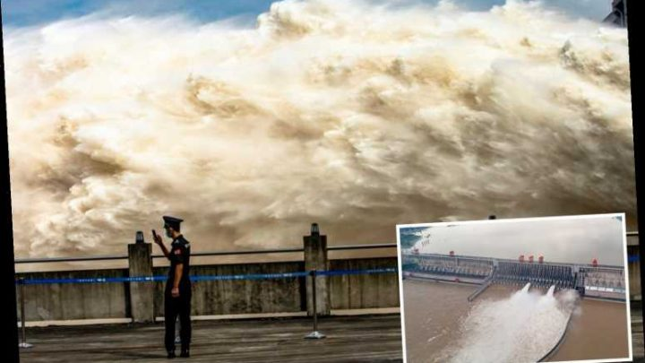 New China cover-up fears with world's largest dam 'on brink of collapse risking tidal wave that could wipe out cities'