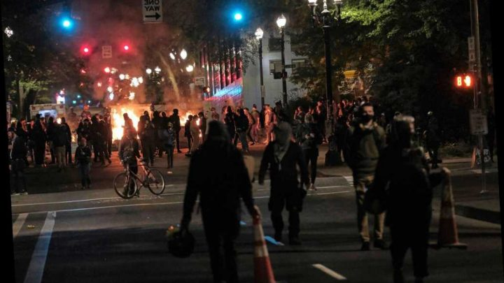 DHS chief denounces 'lawless anarchists' in Portland amid ongoing protests