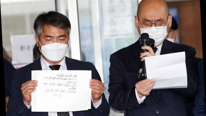 Late Seoul Mayor Park Won-soon says he felt 'sorry to all people' in apologetic will