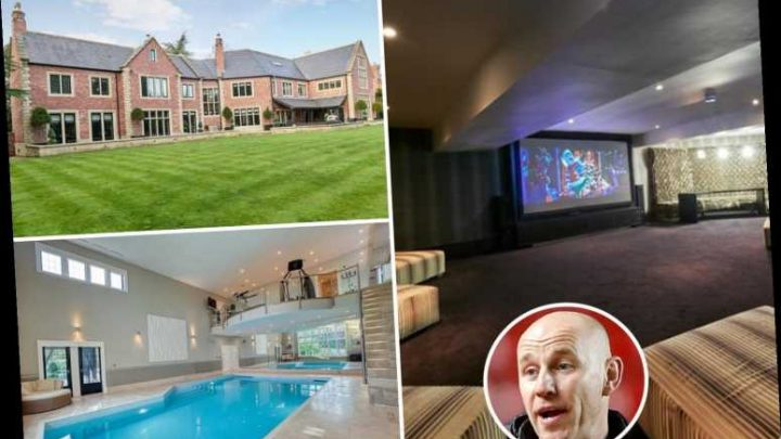 Inside ex-Man Utd star Nicky Butt's cut-price £5.5m mansion with pool and kids play area he's struggling to sell