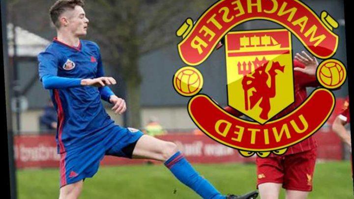 Man Utd confirm transfer signings of teen Sunderland duo Logan Pye and Joe Hugill and Czech keeper Radek Vitek