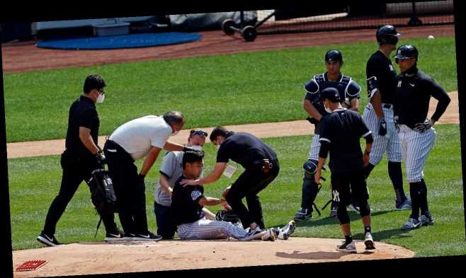 Yankees' Masahiro Tanaka took 112-mph line drive to the head, teammate says