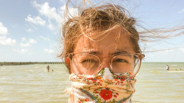 I live in Texas and decided to go beach camping for a weekend during the pandemic. Here's how I did it as safely as possible — and for less than $100 total.