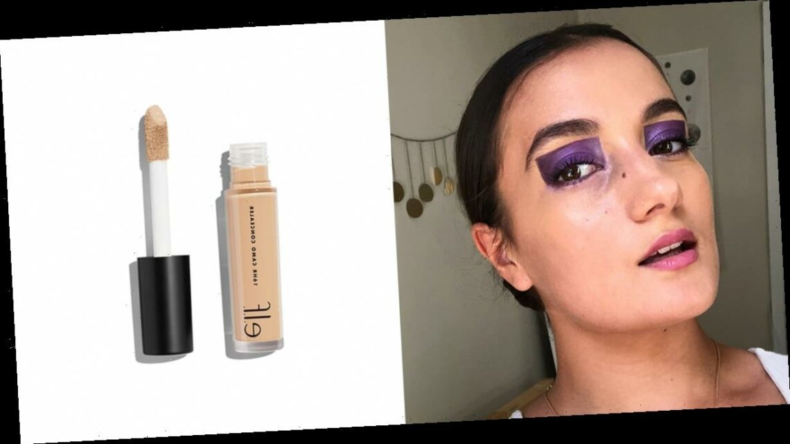 I Tried the Colorblock Eyeshadow Trend That's Taking Over Instagram