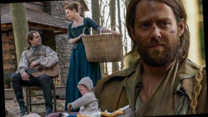 Outlander's Roger MacKenzie star speaks on 'heartbreaking' Jemmy moment: 'What good am I?'