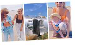 Inside Lydia Bright's Instagrammable beach holiday to Kent with baby Loretta and her family