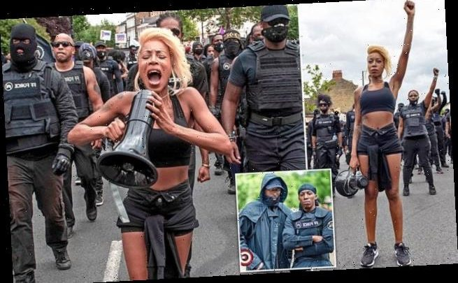 Activist feted by Vogue at heart of paramilitary style protest group