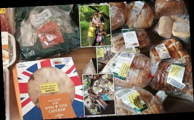 Savvy mum-of-three reveals she bagged £30 of food shopping for £3