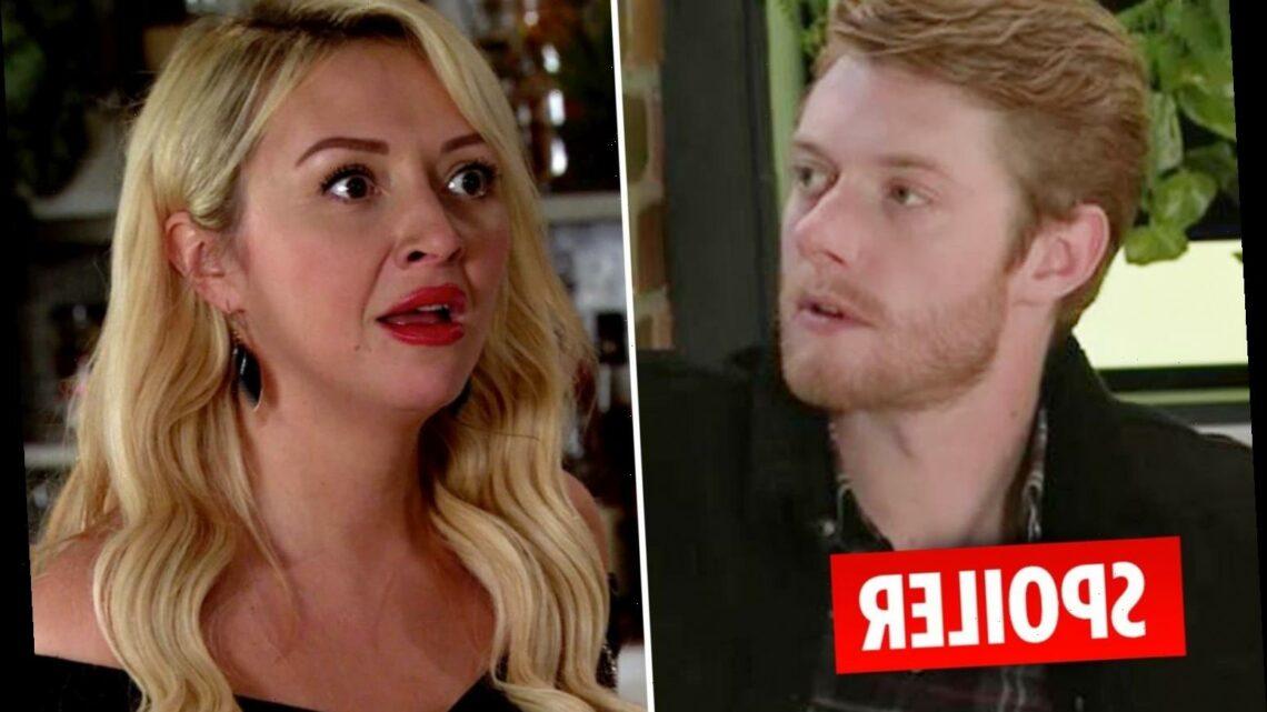 Coronation Street's Daniel Osbourne terrifies escort Nicky as he crashes her 'date'