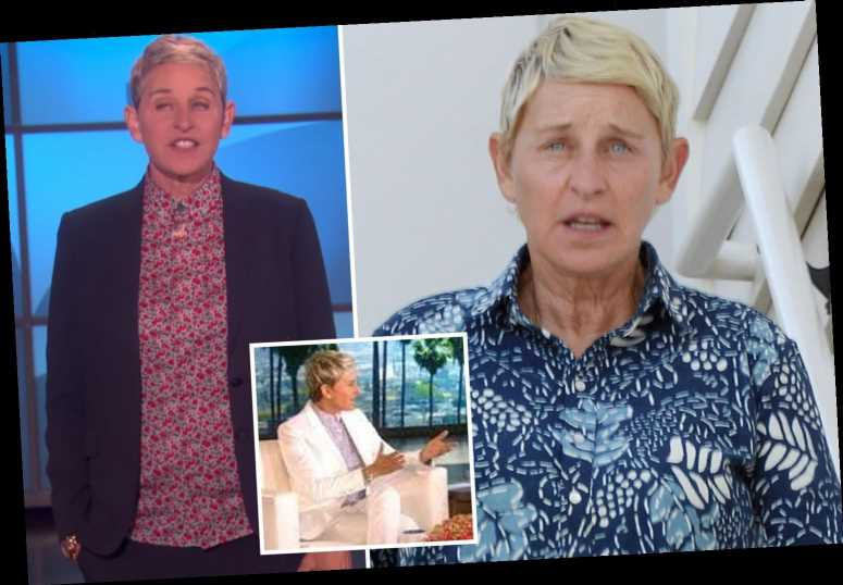 Ellen DeGeneres says 'I'm not perfect' and blames 'humans' for 'toxic' workplace in email to staff amid producer firings
