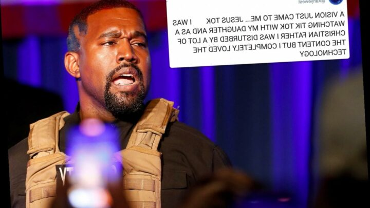 Kanye West wants to create 'Jesus Tok' after he's 'disturbed' by TikTok while watching videos with daughter North, 7