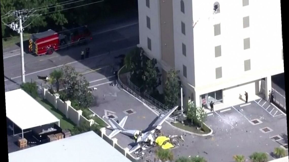 Who died in the Pembroke Pines plane crash in Florida?