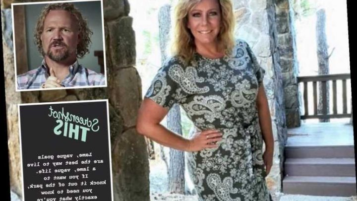 Meri Brown posts cryptic message about living a 'lame and vague life' following split from husband Kody