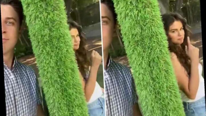 Selena Gomez reunites with Wizards of Waverly Place co-star David Henrie to film new project