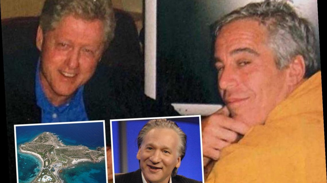 Bill Maher tells ex-Clinton aide claims that 'horny' ex-president visited Jeffrey Epstein on 'pedo island' could be true