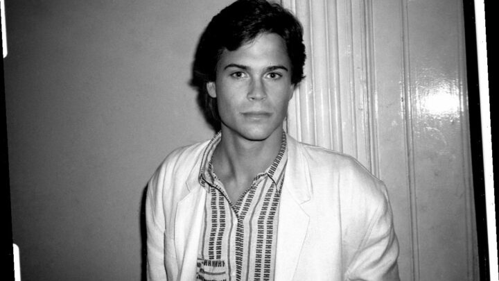 Rob Lowe Says the Teen Idol Conversation Makes Him Roll His Eyes and Say, 'It's My F**King Face'