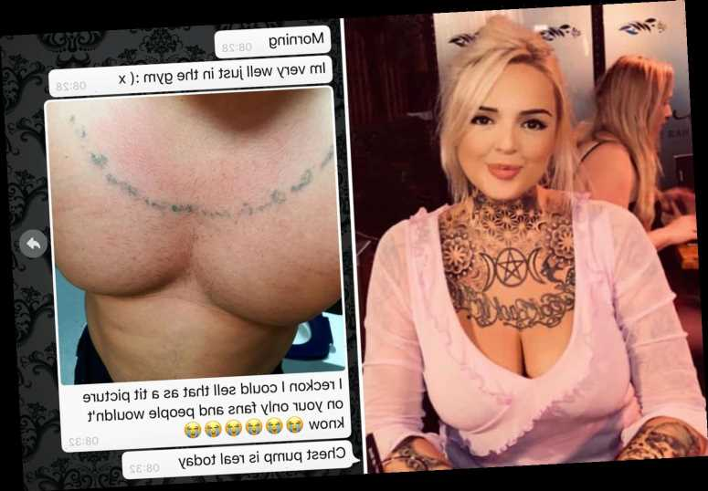 Woman disgusted as man sends topless pic after she offers to volunteer for mental health organisation