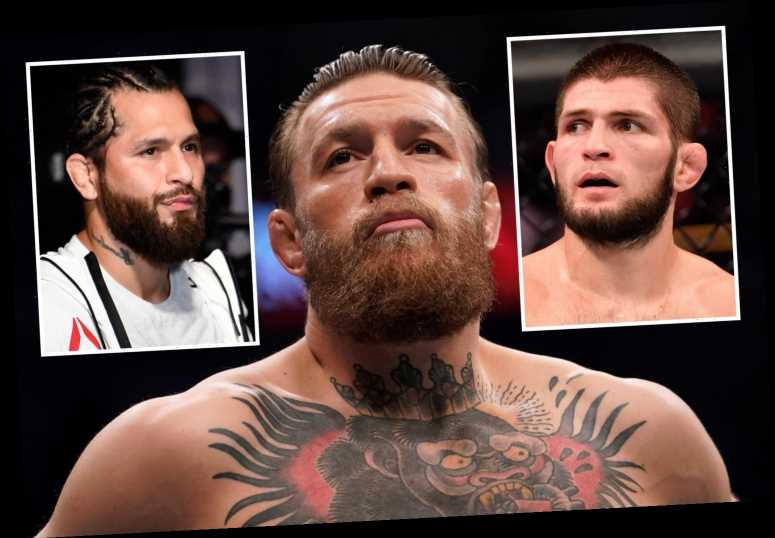 Seven fights Conor McGregor could take as he hints at UFC return including Jorge Masvidal and arch-nemesis Khabib