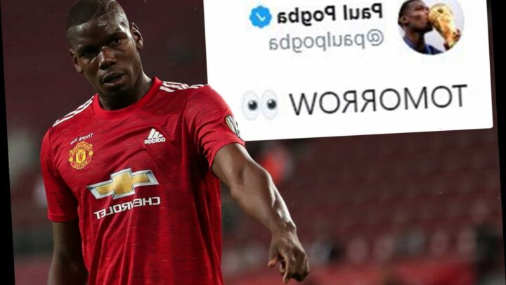 Paul Pogba hints at huge announcement tomorrow with cryptic tweet amid Man Utd contract extension talks