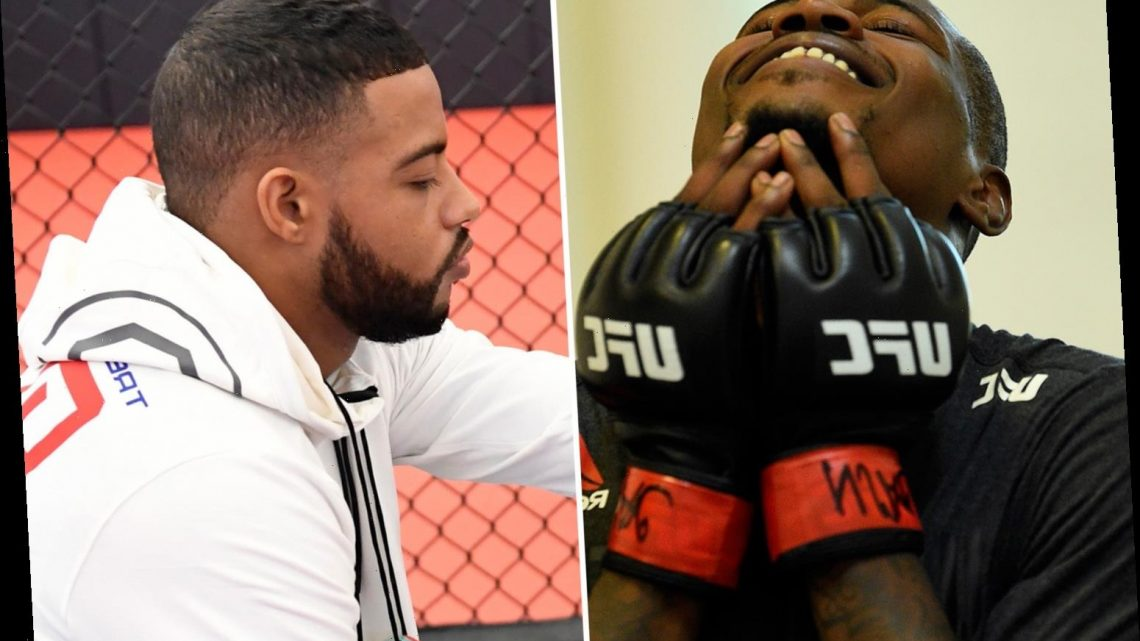 Trevin Giles FAINTS before UFC Vegas 5 clash as opponent Kevin Holland accuses him of deliberately avoiding 'smackdown'