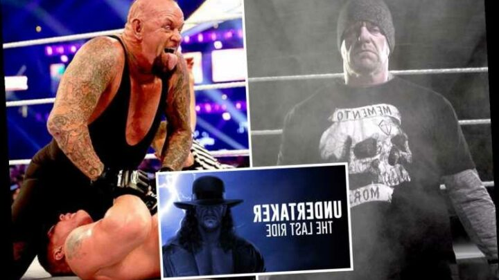 WWE icon The Undertaker reveals horror concussion means he remembers NONE of first WrestleMania loss by Lesnar in 2014 – The Sun