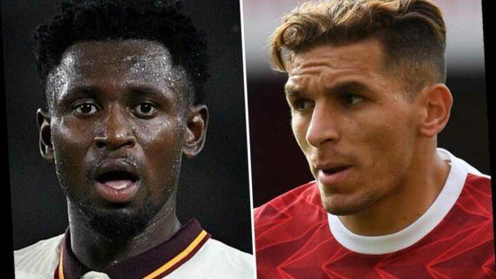 Arsenal star Lucas Torreira set for swap transfer with Roma midfielder Amadou Diawara – with Matteo Guendouzi also off