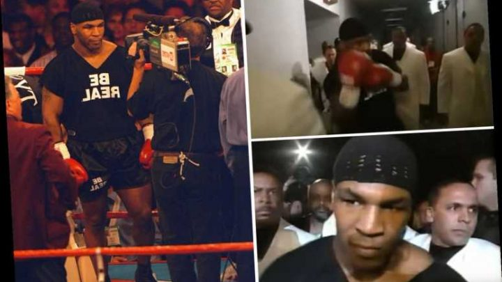 'Iron' Mike Tyson's most terrifying ring entrance ever STILL has fans and other fighters terrified 21 years on – The Sun