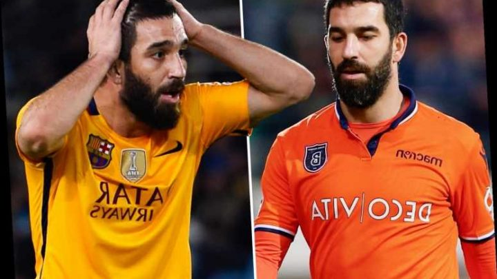Bad-boy Arda Turan returns to Galatasaray after Barcelona contract expires following disastrous five-year spell