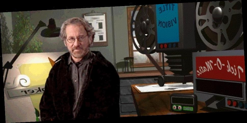 'Steven Spielberg's Director's Chair', '90s Computer Game Where You Make a Movie Starring Quentin Tarantino, is Now Available Online