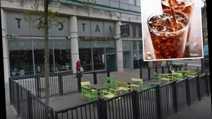 Furious couple slam £8.20 bill for two Diet Cokes as bar charges coronavirus 'booking fee'