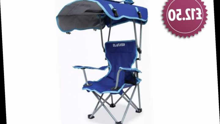 Argos is now selling a canopy chair for £12.50 so your kids can stay out of the sun