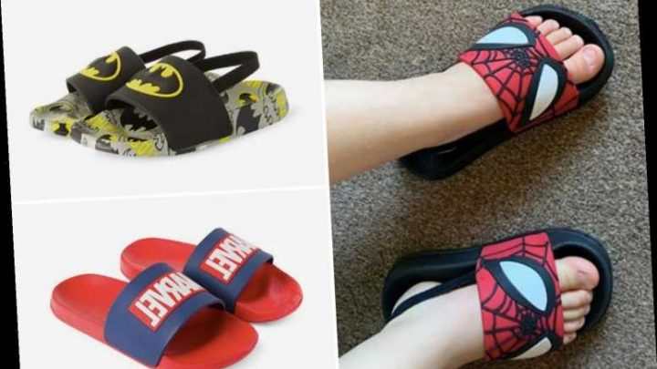 Parents are raving about Primark's £5 sliders for kids that come in Frozen and Marvel designs