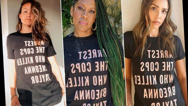 Celebrities demand justice for Breonna Taylor with T-shirt campaign
