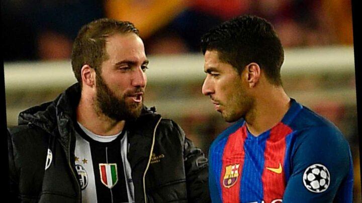 Barcelona reject swap transfer of Luis Suarez for Gonzalo Higuain after Juventus propose amazing striker exchange