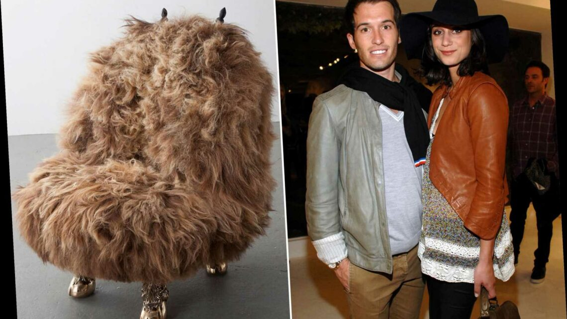 The hairy chair at the heart of a million-dollar Manhattan marital split