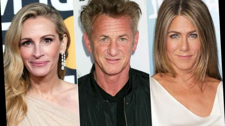 Jennifer Aniston, Sean Penn, Julia Roberts Team for Fast Times at Ridgemont High Table Read Benefit