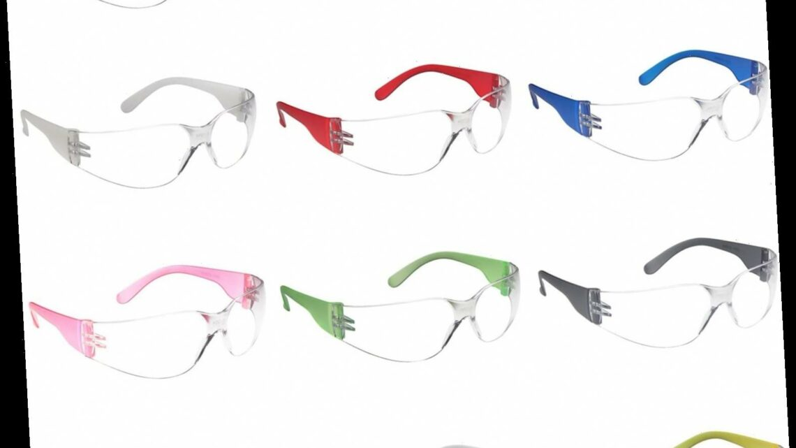 Over 1,800 Amazon Shoppers Love These Safety Glasses That Protect Against COVID-19