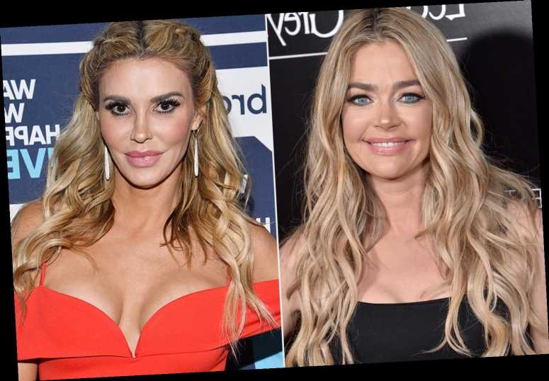 Denise Richards Suggests Brandi Glanville's Texts Are Fake on RHOBH Finale: 'This Is Slanderous'