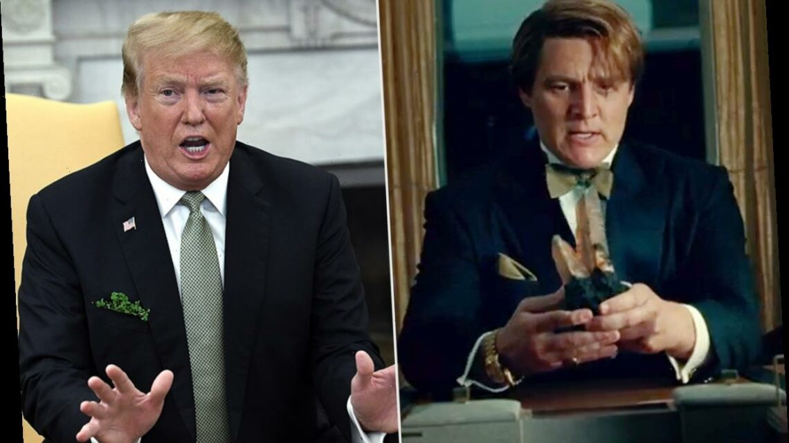 Wonder Woman 1984 Director Says Trump Is 'One' of the Influences for Pedro Pascal's Villain