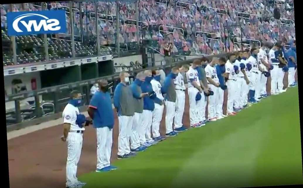Mets, Marlins stage walkout protest after moment of silence