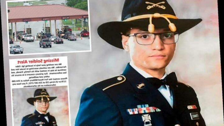 Fort Hood soldier Elder Fernandes goes MISSING just days after 11th death at Texas base this year