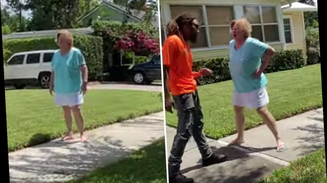 Black landscapers praised for brilliant restraint after disgusting 'Karen' goes on racist N-word rant