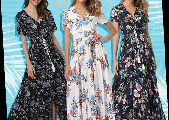 This $39 Floral Maxi Dress Has 1,368 5-Star Amazon Reviews