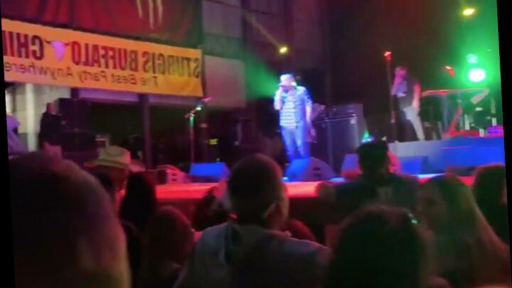 'F–k that COVID shit!': Smash Mouth plays to thousands of bikers at rally